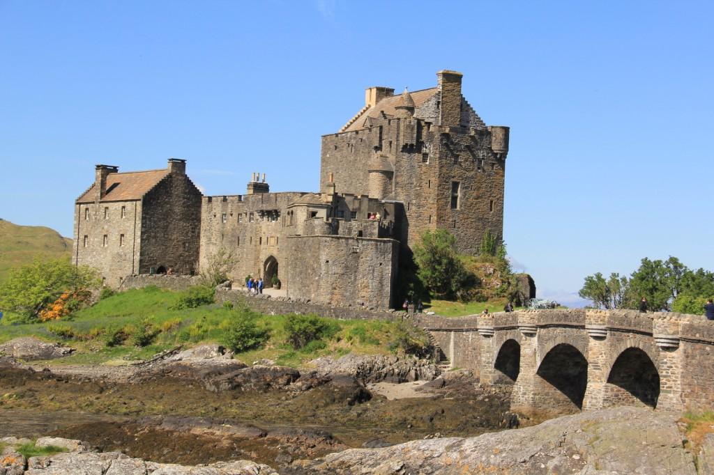 Skotland Eilean Donan Castle 07-06-2013 10-54-02